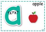 Alphabet Play Dough Mats (Standard Print)