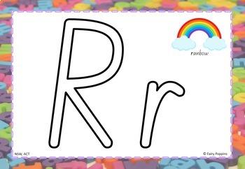 Alphabet Play Dough Mats (Zaner-Bloser & Australian Fonts)