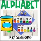 Alphabet Play Dough Smash