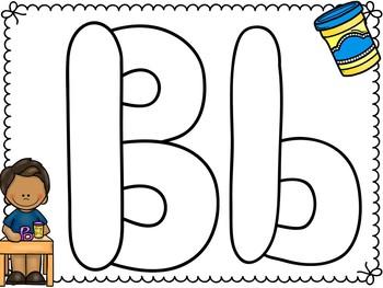 Alphabet Play-doh Mats - Hands-on Alphabet Literacy Center!