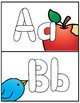 Alphabet Play-doh Mats for PK-K