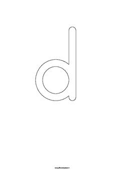 Alphabet Play-dough Mats