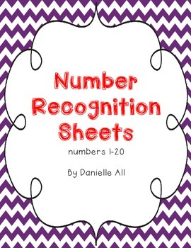 1-20 Number Recognition