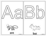 Alphabet PlayDough Mats Prek/Kinder