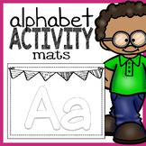 Letter Play Doh Mats