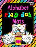 Alphabet A-Z Play-doh Mats and Writing Mats