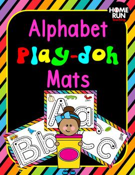 Alphabet A-Z Playdoh Mats, phonics fun