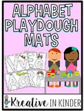 Alphabet Play Dough Mats