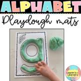 Alphabet Tracing and Playdough Mats