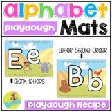 Alphabet Playdough Mats Beginning Sounds