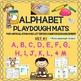 Alphabet Playdough Mats: A-Z & /CH/, /SH/ & /TH/ sounds & words