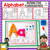 Alphabet Playdough Mats | Alphabet Tracing Cards | Beginni