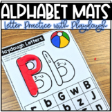 Alphabet Playdough Mats | Letter Identification for Uppercase and Lowercase