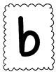 Alphabet Playdough Mats- Lowercase Letters