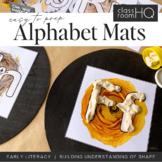 Alphabet Playdough Mats - Pre-Writers