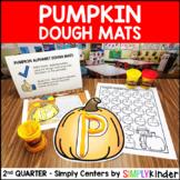 Pumpkin Playdough Mats - Kindergarten Center - Simply Centers