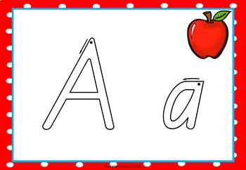 Alphabet Playdough Mats QLD Beginners Font