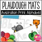 Queensland Print Alphabet Playdough Mats