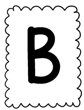Alphabet Playdough Mats- Uppercase Letters