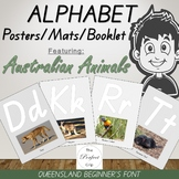 Alphabet Posters / Mats / Booklet / Cards with Australian