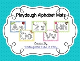 Alphabet Playdough Mats with Stroke Order