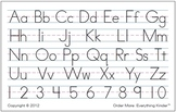Alphabet Plus Numbers