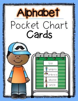 Alphabet Pocket Chart Cards