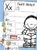 Alphabet Pocket Chart Cards & Writing Activities