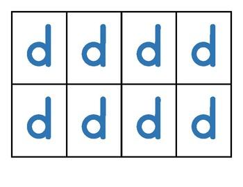 Alphabet Pocket Chart Word Building Cards