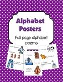 Alphabet Poem Posters
