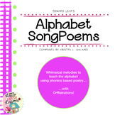 Alphabet Poem Songs