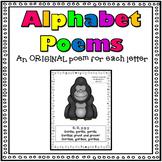 Alphabet Poems A-Z