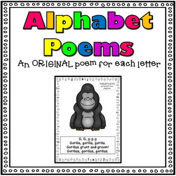 Alphabet Poems A-Z