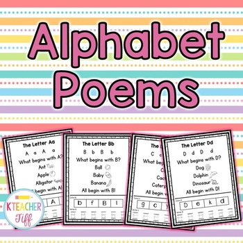 Alphabet Poems
