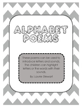 Alphabet Poems (No Prep)