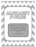 Alphabet Poems (No Prep)