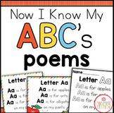 Alphabet Poems {Now I Know My ABC's Series}