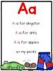 Alphabet Poems for Beginning Readers
