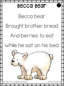Alphabet Poems for Kindergarten Shared Reading