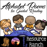 Alphabet Poems Posters and Reader for Guided Reading