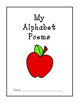 Alphabet Poetry Book - 26 Alphabet Poems