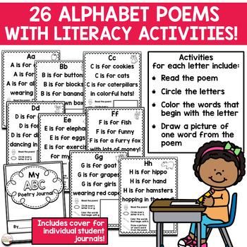 Alphabet Poetry Journal - ABC Poems