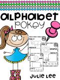 Alphabet Pokey {Fine Motor Letter Practice}