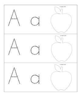 Alphabet Pokey Pin Cards