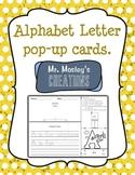 Alphabet Letter Cards: A pop-up activity!