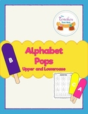 Alphabet Pops Upper and Lowercase Letters