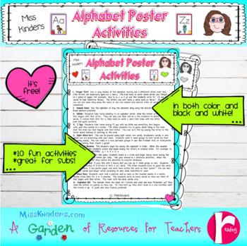 Alphabet Poster Activities