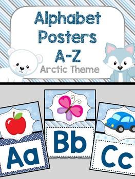 Alphabet Poster - Arctic Theme