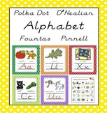 D'Nealian / Fountas and Pinnell aligned Alphabet Letter Sound Pack