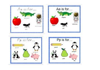 Alphabet Poster Classroom Display